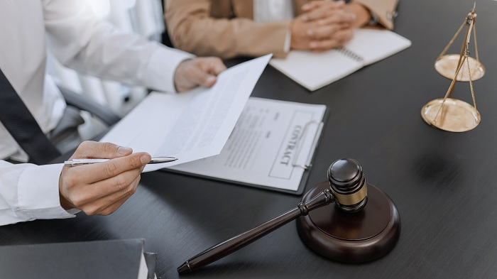 Lawyer and client negotiation